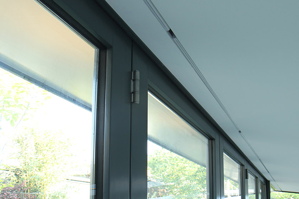 Blindspace for bi-fold and sliding doors
