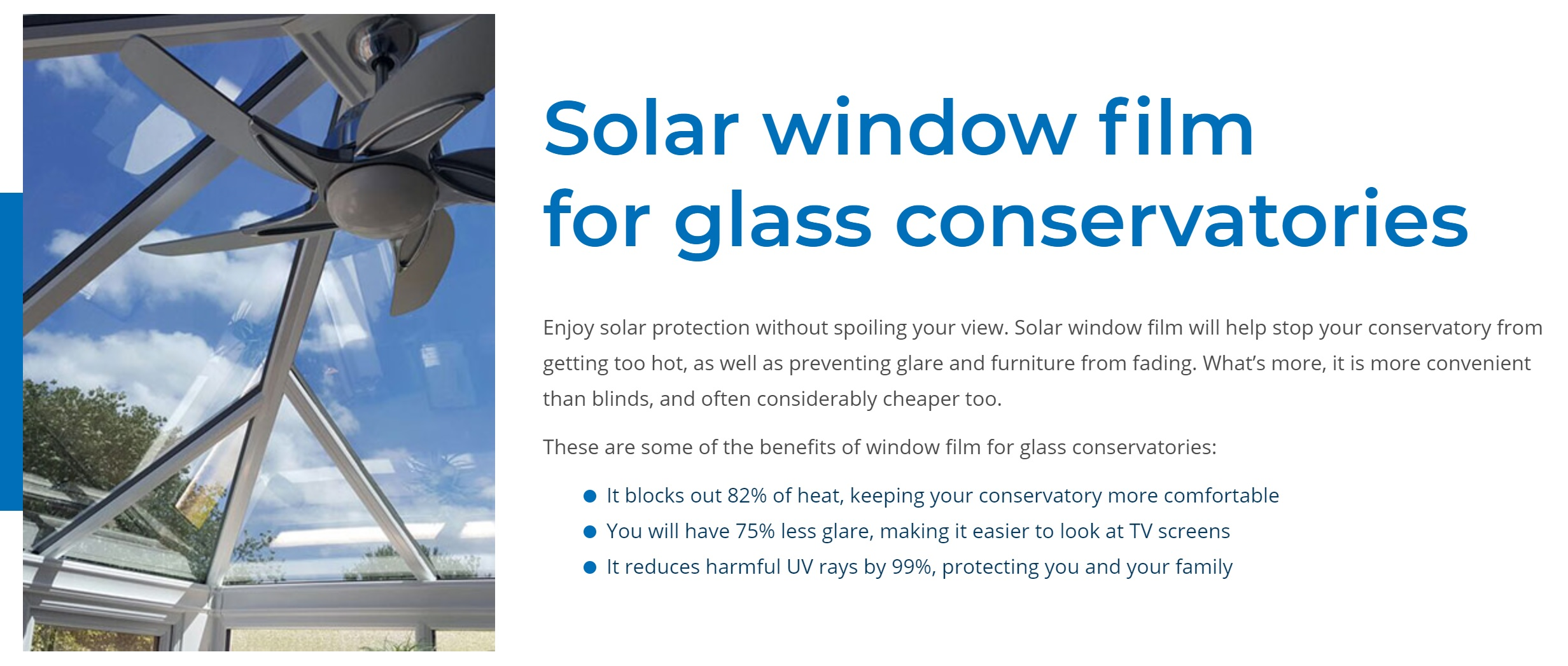 Conservatory Window Film Reviews Glass Roof Film Reviews