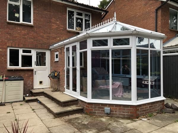 Silver 50 External Conservatory Window Film