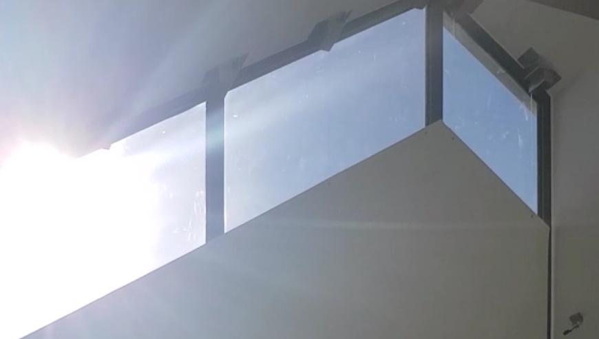 Shaped blinds - Gable end blinds